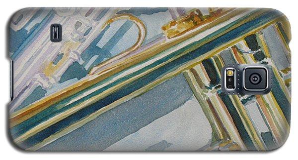 Silver And Brass Keys Galaxy S5 Case
