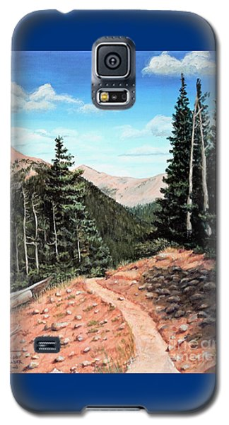 Silver Dollar Trail Colorado Galaxy S5 Case