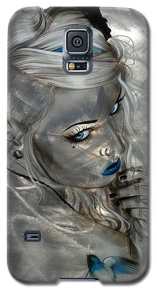 Silver Flight Galaxy S5 Case