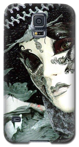 Silver Lacy Eyes Galaxy S5 Case
