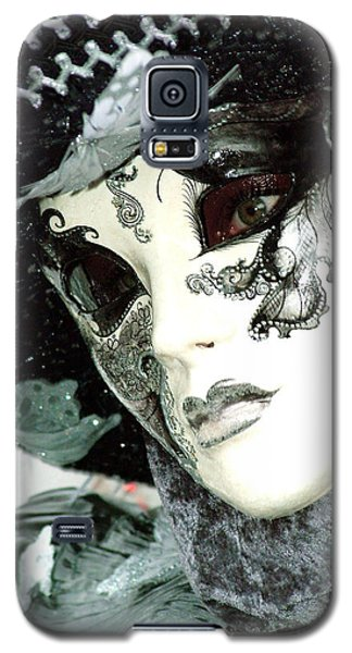 Silver Lacy Eyes Galaxy S5 Case