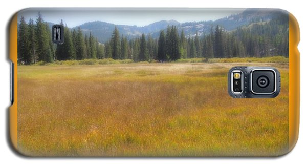 Galaxy S5 Case featuring the photograph Silver Lake Area Big Cottonwood Canyon Utah by Richard W Linford