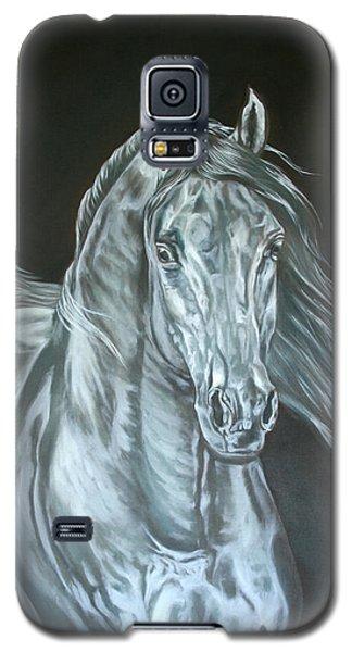 Silver Galaxy S5 Case by Leena Pekkalainen