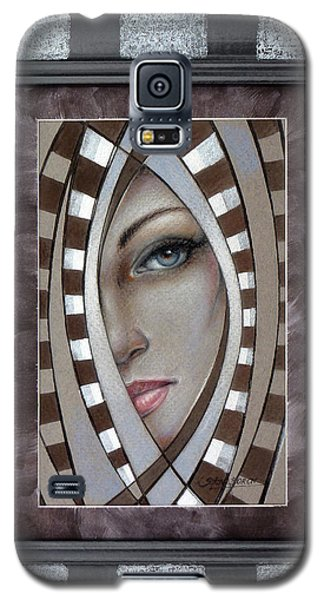 Silver Memories 220414 Framed Galaxy S5 Case