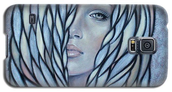 Silver Nymph 021109 Galaxy S5 Case by Selena Boron