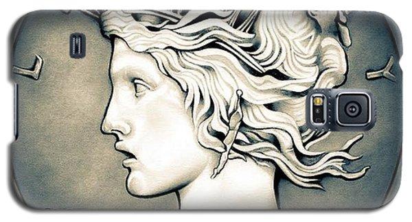 1922 Silver Proof Peace Dollar Galaxy S5 Case