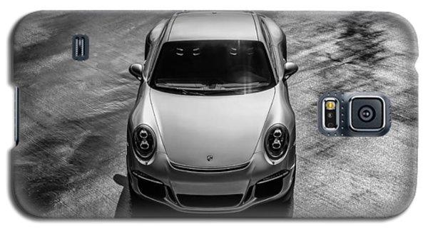 Silver Porsche 911 Gt3 Galaxy S5 Case by Douglas Pittman