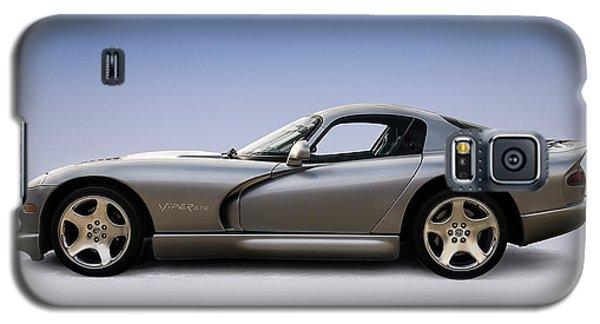 Viper Galaxy S5 Case - Silver Viper by Douglas Pittman