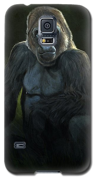 Gorilla Galaxy S5 Case - Silverback by Aaron Blaise