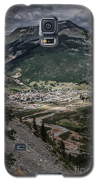 Silverton View From Above Galaxy S5 Case by Jim McCain