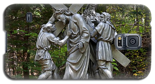 Simon Helps Jesus Galaxy S5 Case by Terry Reynoldson