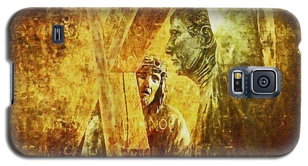 Simon Helps Jesus Via Dolorosa 5 Galaxy S5 Case