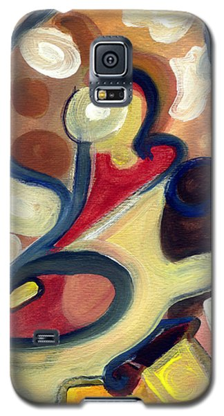 Galaxy S5 Case featuring the painting Simple Beauty by Stephen Lucas