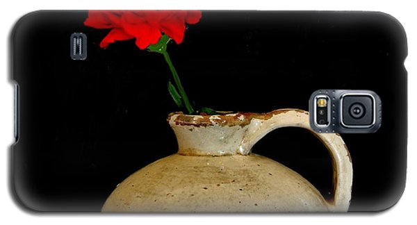 Simple Carnation In Pottery Galaxy S5 Case
