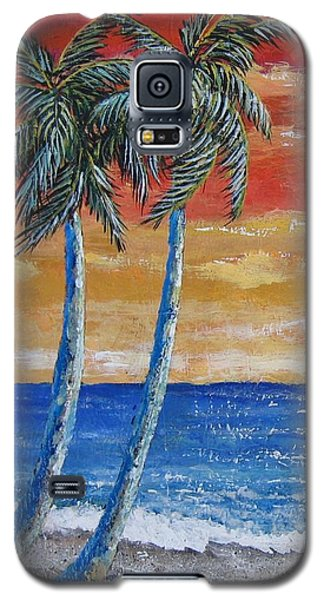Galaxy S5 Case featuring the painting Simple Pleasure by Suzanne Theis