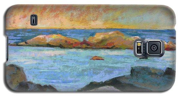 Simple Rock Landscape Galaxy S5 Case