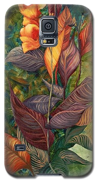 Simply Flowers Galaxy S5 Case by Yolanda Raker