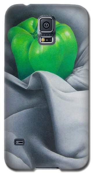 Simply Green Galaxy S5 Case by Pamela Clements