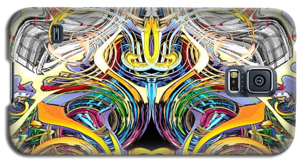 Simulated Beats B Vector 6  Galaxy S5 Case