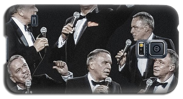 Galaxy S5 Case featuring the photograph Sinatra In Concert by Vladimir Kholostykh
