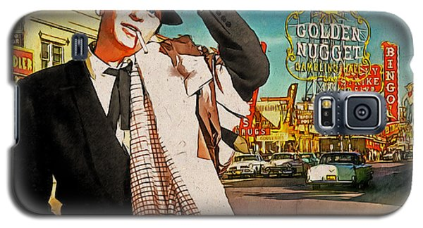 Sinatra In Vegas 1955 Galaxy S5 Case by Kai Saarto