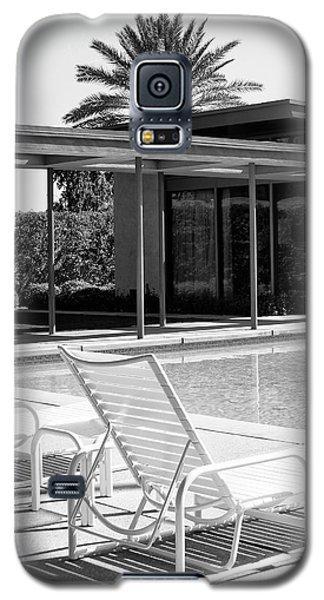 Sinatra Pool Bw Palm Springs Galaxy S5 Case