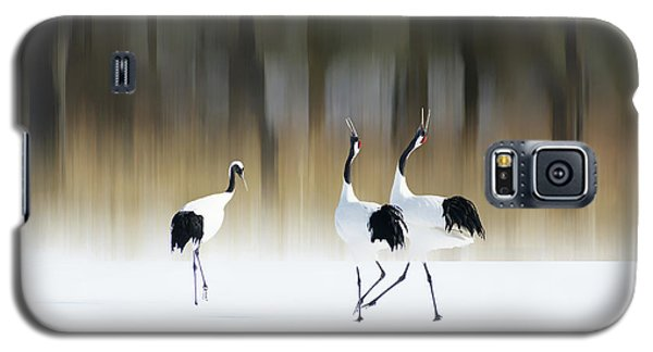 Crane Galaxy S5 Case - Sing A Song Of Love by Ikuo Iga