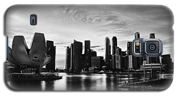 Sunny Galaxy S5 Case - Singapore Marina by Sunny Merindo