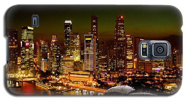 Singapore Skyline Galaxy S5 Case
