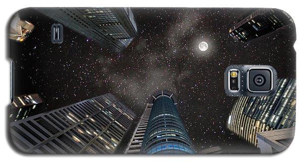 Singapore Moon Sky Galaxy S5 Case