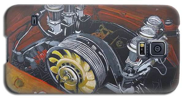 Singer Porsche Engine Galaxy S5 Case