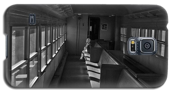 Galaxy S5 Case featuring the photograph Singin' In The Train by Jeremy Rhoades