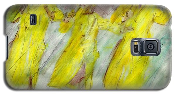 Singing In The Rain Galaxy S5 Case by P J Lewis
