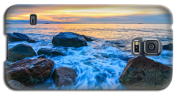 Singing Sunrise Singing Beach Galaxy S5 Case