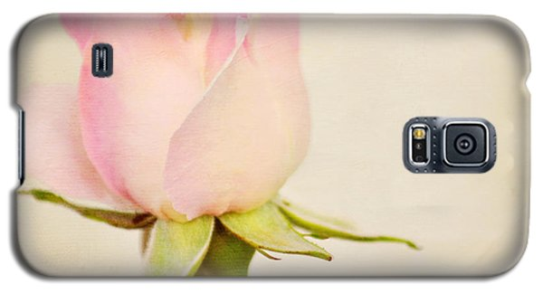 Single Baby Pink Rose Galaxy S5 Case