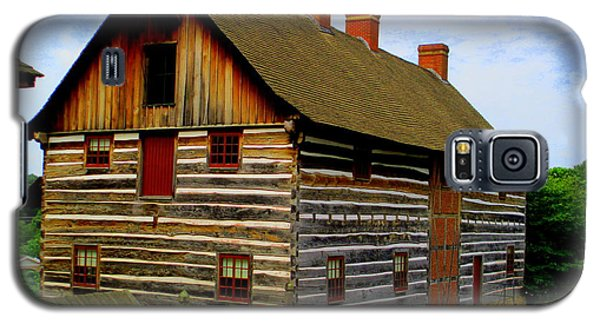 Single Brothers Workshop Old Salem Galaxy S5 Case by Randall Weidner