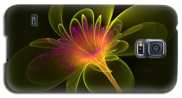 Single Flower Galaxy S5 Case