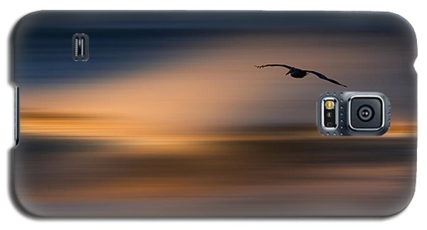 Galaxy S5 Case featuring the photograph Single Pelican  73a1102 by David Orias