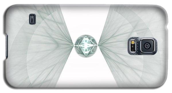 Galaxy S5 Case featuring the digital art Singularity by Arlene Sundby