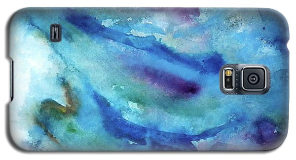 Galaxy S5 Case featuring the painting Sinking by Anna Ruzsan
