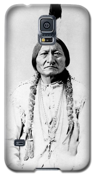 Bull Galaxy S5 Case - Sioux Chief Sitting Bull by War Is Hell Store