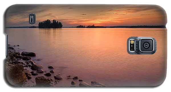 Sioux Narrows Sunset Galaxy S5 Case