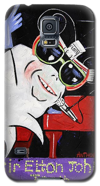 Sir Elton John Tooth  Galaxy S5 Case by Anthony Falbo