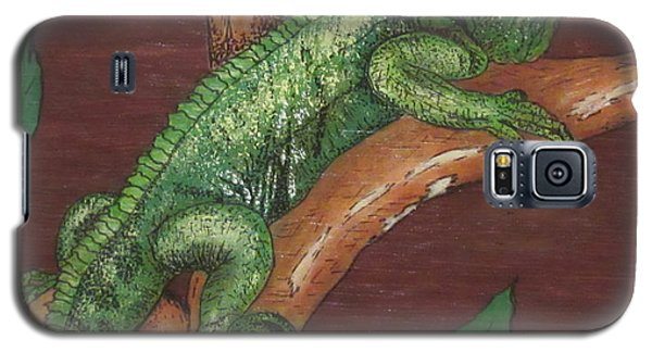 Sir Iguana Galaxy S5 Case