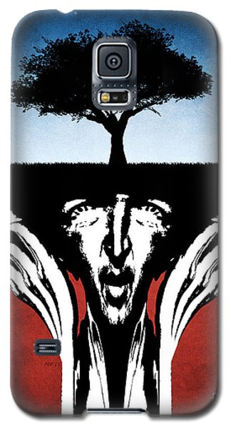 Galaxy S5 Case featuring the digital art Sir Real by Phil Perkins
