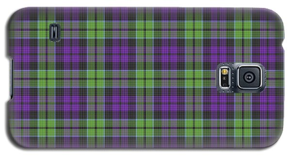 Sir Walter Scott Purple And Green Galaxy S5 Case