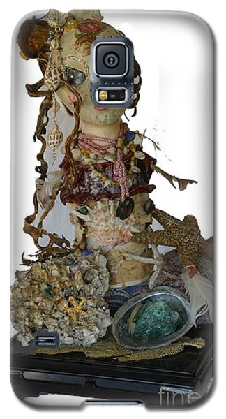 Galaxy S5 Case featuring the sculpture Siren by Avonelle Kelsey