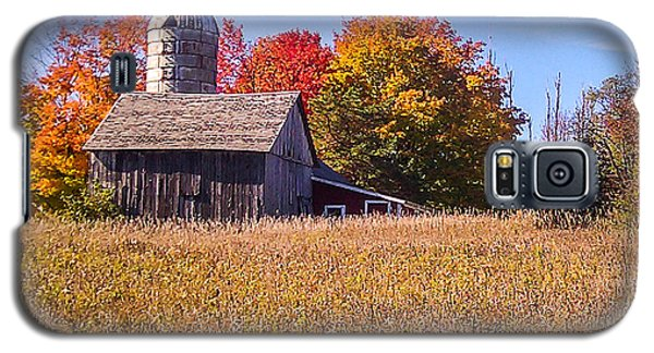 Sister Bay Barn Galaxy S5 Case