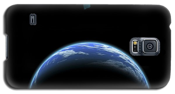 Sister Moon Satellite Galaxy S5 Case