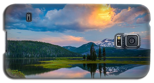Sister Sunrise At Sparks Lake Galaxy S5 Case